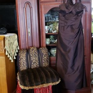 Chocolate Brown Prom Mother of Bride formal